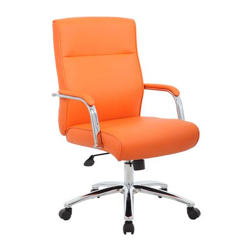 Ordinaire Presidential Seating Boss Modern Executive Conference Chair   Orange
