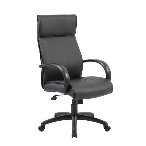Presidential Seating Boss High Back Executive Chair / Black Finish / Black Upholstery
