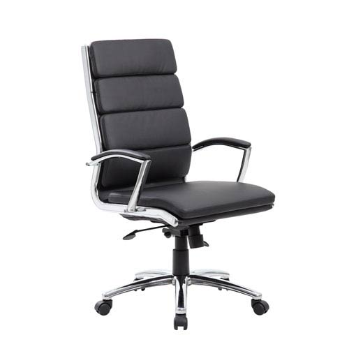 presidential office chair. Boss Executive Caressoft Plus™ Chair With Metal Chrome Finish Presidential Office Chair O