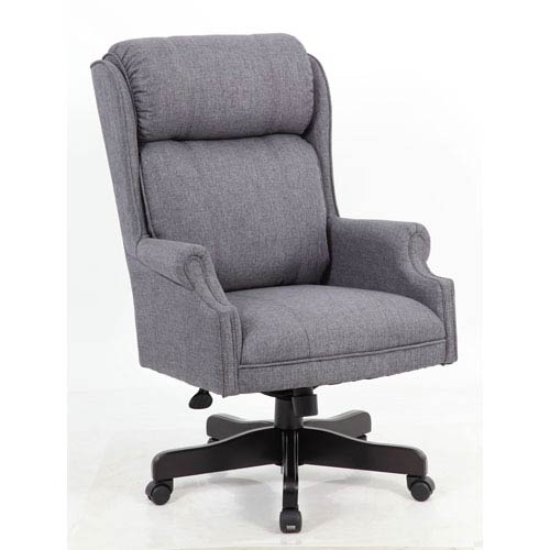 presidential office chair. Presidential Seating Boss High Back Slate Grey Commercial Grade Linen Chair  With Black Base Presidential Office Chair A