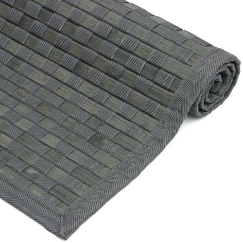 Checkerboard Charcoal Rectangular: 2 Ft. x 3 Ft. Area Rug