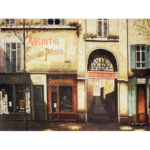 Oriental Furniture Parisian Marketplace Wall Art