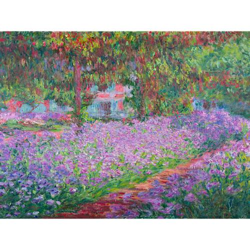 Monets Garden Wall Art
