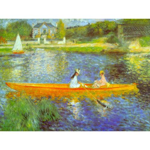 Oriental Furniture The Seine by Renoir Wall Art
