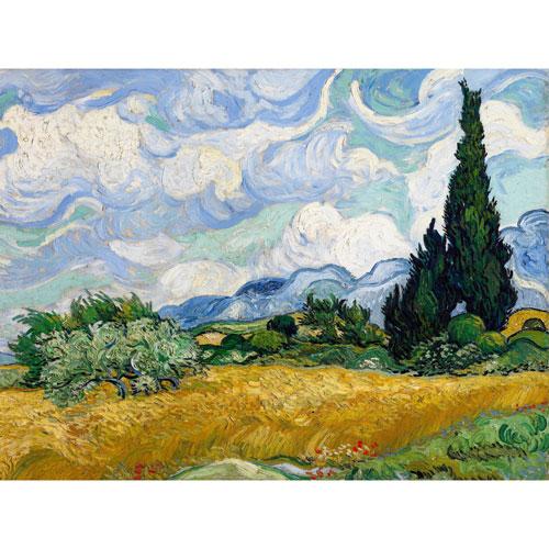 Wheat Field by Van Gogh Wall Art