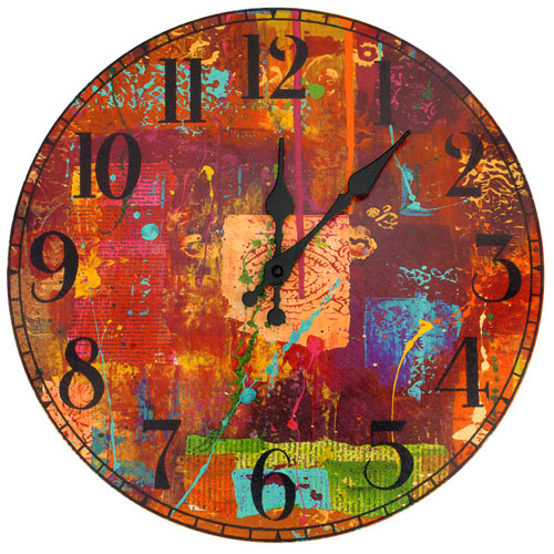 India by Gita Wall Clock