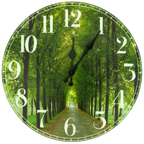 Path of Life Wall Clock