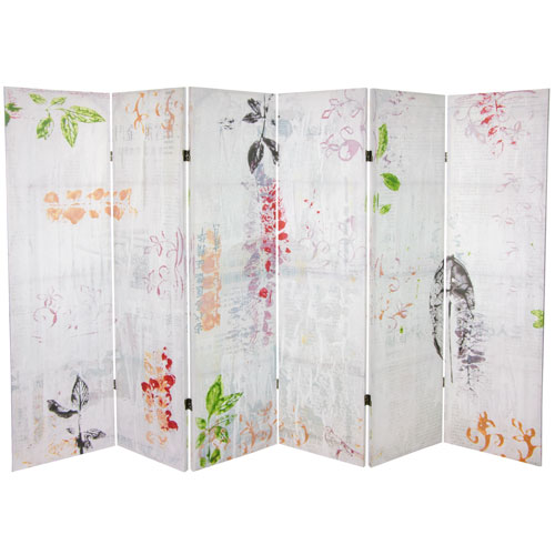5-Foot Paradise Grove Canvas Room Divider