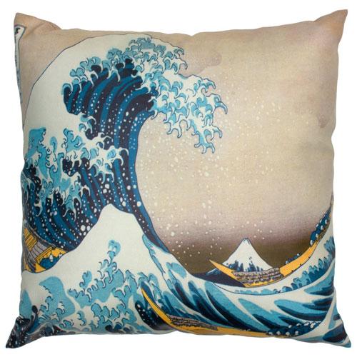 Great Wave Off Kanagawa Pillow