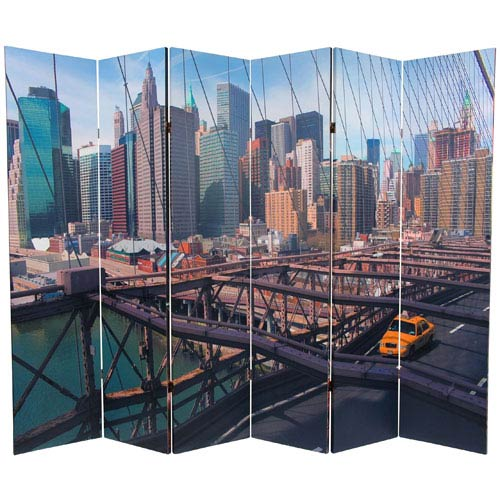 New York Room Divider Bellacor