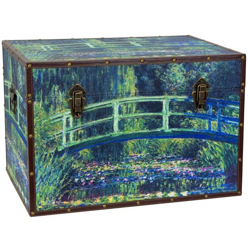 Monet Garden Art Trunk