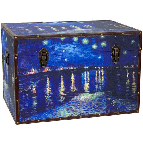 Van Gogh Starry Night Over the Rhone Trunk