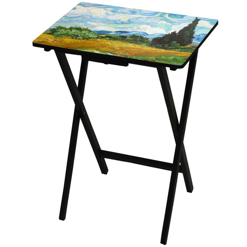 Van Gogh Wheat Field TV Tray
