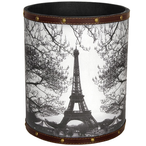 Eiffel Tower Waste Basket