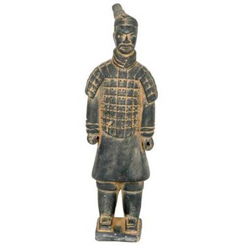 Oriental Furniture 14 Inch Xian Terra Cotta Warrior, Width - 2 Inches