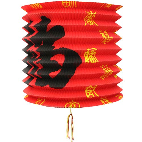 Chinese New Year Lanterns - Pack of 12