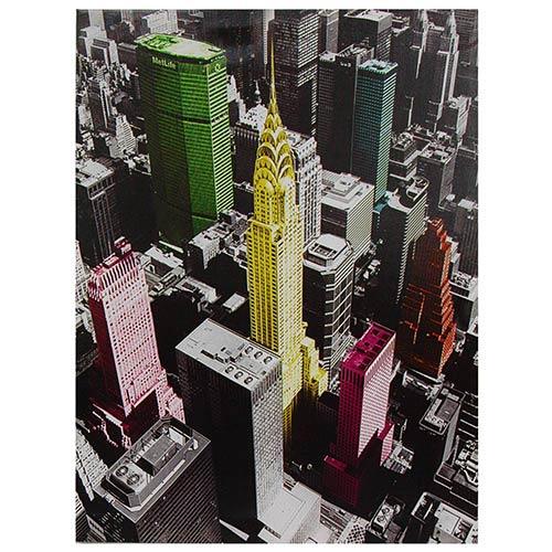 High-Lights of New York: 23.5 x 31.5 Canvas Wall Art
