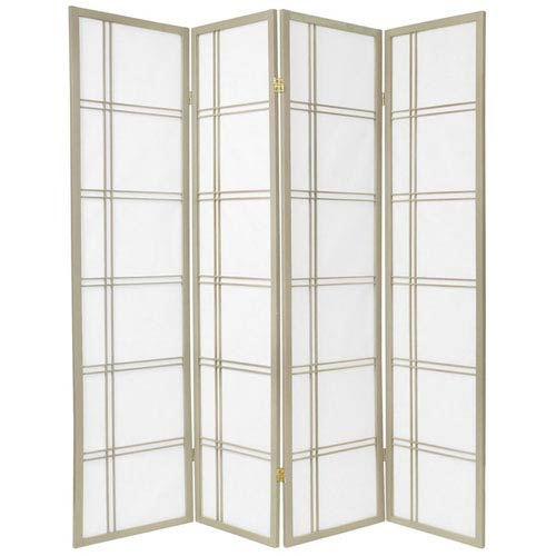 Double Cross Shoji Screen - Special Edition , Width - 69 Inches