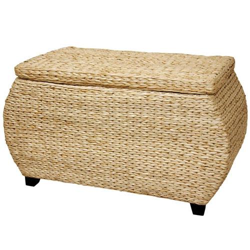 Rush Grass Storage Box, Width - 31 Inches