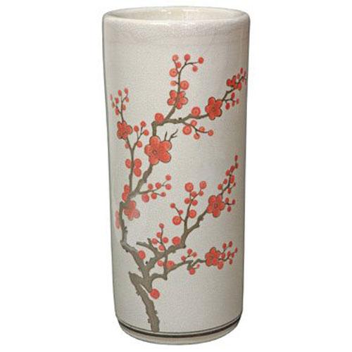 18 Inch Cherry Blossom Umbrella Stand, Width - 7.75 Inches