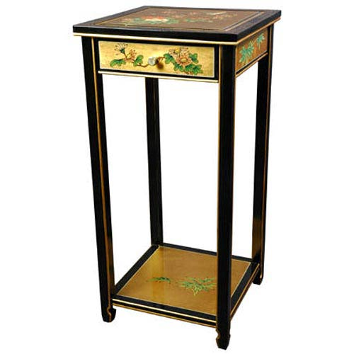 Oriental Furniture Oriental Gold Pedestal