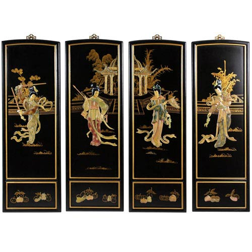Lady Generals Wall Plaques, Width - 12 Inches