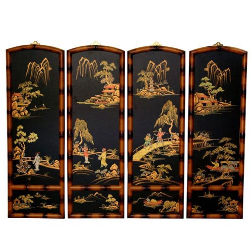 Ching Wall Plaques, Width - 12 Inches