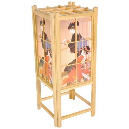 Geisha Natural Shoji Lamp