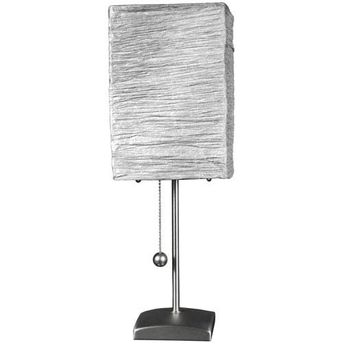 17-inch Yoko Table Lamp - Silver