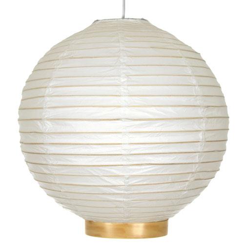 12-inch Maru Bamboo Shoji Lantern