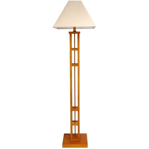 62-inch Mosko Floor Lamp - Honey
