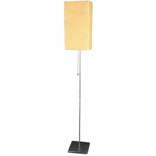 60-inch Yoko Floor Lamp - Beige Shade