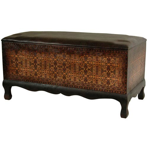 Olde - Worlde Euro Baroque Bench, Width - 32 Inches