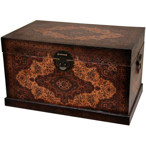 Olde - Worlde Baroque Storage Box, Width - 18.5 Inches