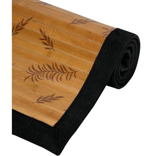 Oriental Furniture Bamboo Rectangular: 5 Ft. x 8 Ft. Rug