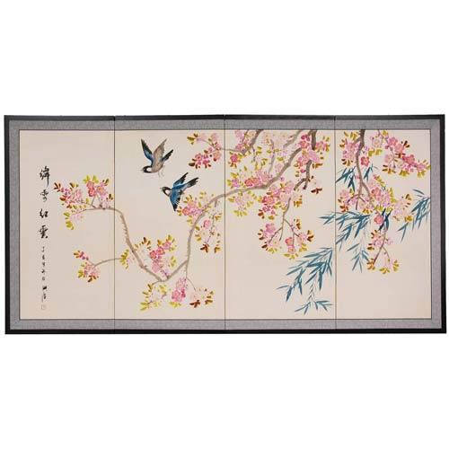 Shing Huo Blossom Silk Screen