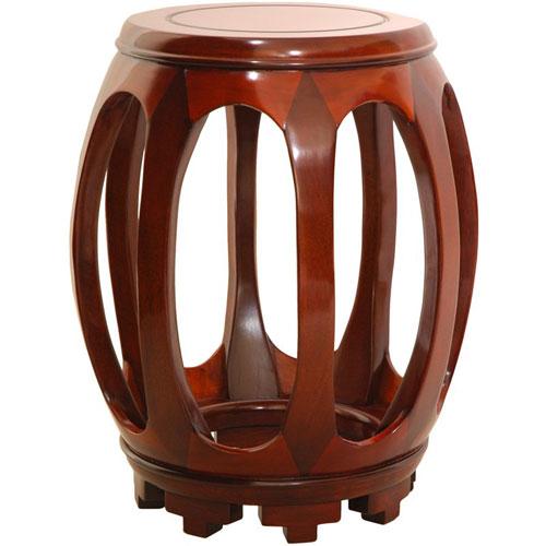 Oriental Furniture Circular Honey Stand, Width - 11 Inches