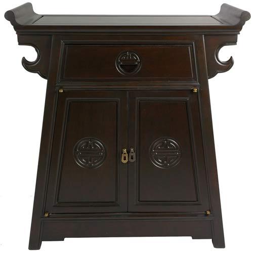 Rosewood Altar Cabinet