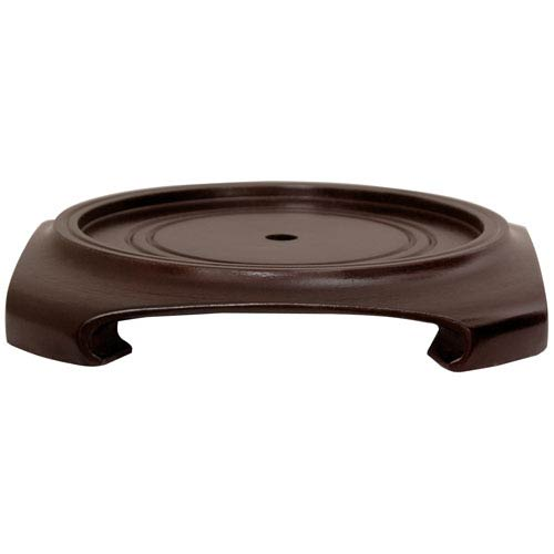 Rosewood Vase Stand - (Size 5 in. Base Diameter)
