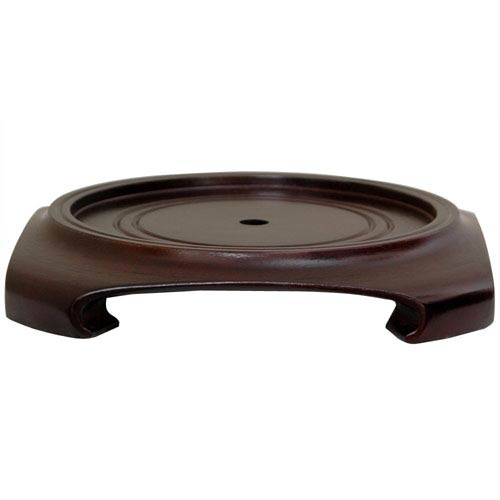 Oriental Furniture Rosewood Vase Stand 95 Inch Width 9 Inches St