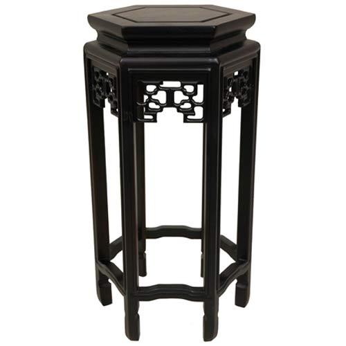 Oriental Furniture 20-Inch Hexagon Plant Stand