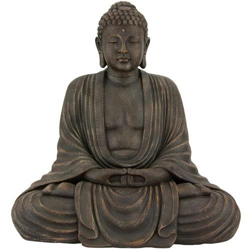 2 1/2 ft. Tall Japanese Sitting Buddha Statue