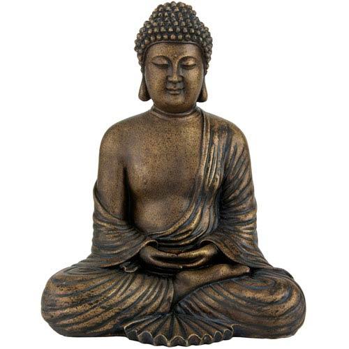12-inch Japanese Meditating Buddha Statue