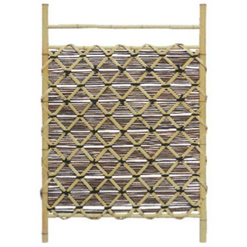 Oriental Furniture Bamboo Fence Door WD04 - 2, Width - 29.5 Inches