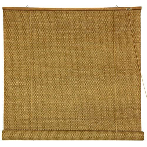 Woven Jute Roll Up Blinds 72 Inch, Width - 72 Inches