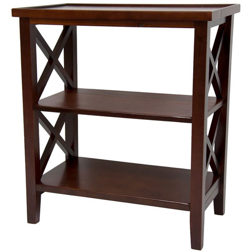 26 Inch Architectural Book Case Table Cherry, Width - 23.5 Inches