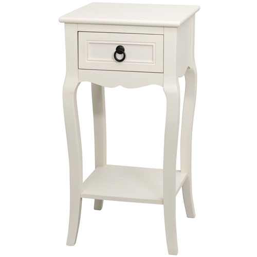 Oriental Furniture 27 Inch Classic Accent Table Xa Table12 Wht