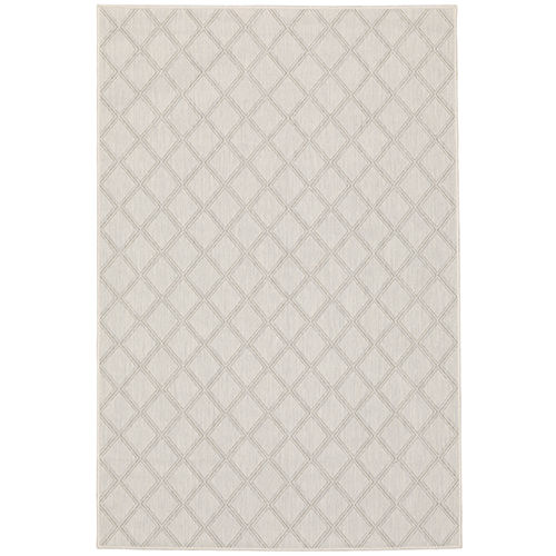 Portofino Ivory Gray Rectangular: 9 Ft. 10 In. x 12 Ft. 10 In. Rug