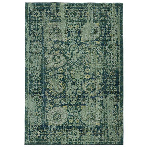 PANTONE Universe Expressions Blue and Green Rectangular: 5 Ft. 3 In. x 7 Ft. 6 In. Rug