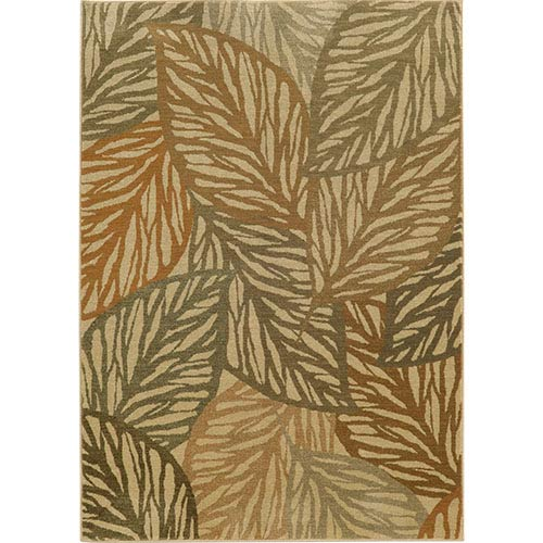 Tommy Bahama Area Rugs Voyage 5507W Multi-Color Rectangular: 5 Ft. 3 In. x 7 Ft. 6 In. Rug